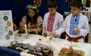 Intl Festival 2014 three pysanka writers