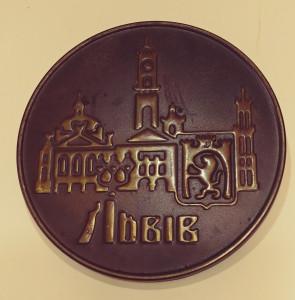 Lviv wall plaque