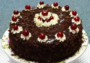 Piana vyshnia torte